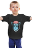 "Детская футболка классическая унисекс ""BrainMonkey"" - мозг, обезьяна, monkey"