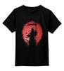 """Детская футболка классическая унисекс """"После Смерти"""" - кровь, смерть, rip, мертвец"""