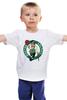 "Детская футболка ""Boston Celtics"" - nba, нба, бостон селтикс"