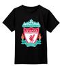 """Детская футболка классическая унисекс """"Liverpool (Ливерпуль)"""" - football, uk, ливерпуль, liverpool, футбольный клуб"""
