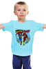 "Детская футболка классическая унисекс ""superman vs the flash"" - flash, супермен, комиксы, superman, флэш"