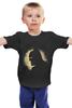 """Детская футболка классическая унисекс """"Бэтмен"""" - batman, бэтмен, супергерой, dc comics"""