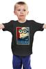 """Детская футболка классическая унисекс """"Banana"""" - banana, миньоны, постер, гадкий я, minion"""