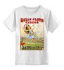"""Детская футболка классическая унисекс """"ретро плакат"""" - арт, ретро, плакат, афиша, цирк"""