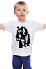 """Детская футболка классическая унисекс """"Kiss (Кисс)"""" - kiss, heavy metal, хард-рок, кисс, глэм-рок"""