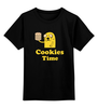"Детская футболка классическая унисекс ""Jake cookies"" - adventure time, время приключений, cookies, finn & jake"