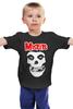 """Детская футболка классическая унисекс """"Misfits """" - skull, череп, punk rock, misfits, панк"""