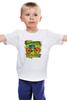 """Детская футболка классическая унисекс """"Винтажный велосипед"""" - америка, винтаж, реклама, велосипед, старина"""