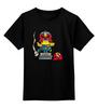 """Детская футболка классическая унисекс """"Миньон Дредд"""" - миньоны, ангри бердс, гадкий я, minion, судья дредд"""