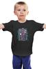 """Детская футболка классическая унисекс """"Тардис"""" - абстракция, doctor who, tardis, доктор кто, тардис"""