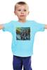 """Детская футболка классическая унисекс """"Политический Юмор"""" - ленин, мотоцикл, сталин, красная площадь, мавзолей"""