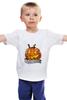 "Детская футболка ""Helloween"" - хэллоуин, helloween"