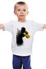 "Детская футболка классическая унисекс ""Порхай как бабочка, жаль как пчела"" - спорт, бокс, muhammad ali, мохаммед али"