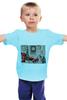 """Детская футболка классическая унисекс """"Лондон"""" - london, uk, big ben"""