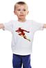 """Детская футболка """"Flash (Молния)"""" - flash, молния, вспышка, флэш"""