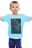 """Детская футболка классическая унисекс """"Девушка с татуировкой дракона"""" - тату, афиша, девушка с татуировкой дракона, kinoart, дэниел крейг"""