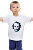 """Детская футболка классическая унисекс """"Джокер"""" - джокер, темный рыцарь, хит леджер"""