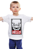 "Детская футболка классическая унисекс ""Abe's (Oddworld)"" - hello, obey, oddworld, abe"