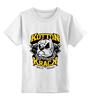 """Детская футболка классическая унисекс """"Бульдог (собака)"""" - dog, собака, бульдог, bulldog"""