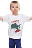 "Детская футболка ""Акула (Baywatch)"" - акула, shark, спасатели малибу, baywatch"