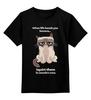 "Детская футболка классическая унисекс ""Кот варчун"" - кот, животные, кошки, варчун"