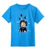 """Детская футболка классическая унисекс """"Джон Сноу (Игра Престолов)"""" - starks, игра престолов, старки, game of thrones, джон сноу"""