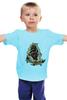 """Детская футболка классическая унисекс """"Pinguin"""" - рок, стиль, tattoo, олдскул, крутой, татуировка, корабль, ship, sailor, морская тематика"""