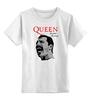 "Детская футболка классическая унисекс ""Freddie Mercury - Queen"" - queen, rock music, куин, фредди меркьюри, freddie mercury"