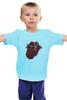 """Детская футболка """"Rolling Stones' 50th Anniversary """" - любовь, rock, логотип, язык, рок-н-ролл, rolling stones, юбилей"""