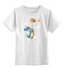 """Детская футболка классическая унисекс """"Дракон"""" - шарики, dragon"""