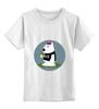 """Детская футболка классическая унисекс """"Bad Dog"""" - матерные, dog, fuck, графика, собака"""