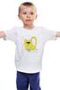 """Детская футболка классическая унисекс """"Солнечный кот"""" - арт, юмор, животные, солнце, cat, котик, мечта, творчество, вязание"""