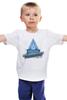 """Детская футболка классическая унисекс """"Мужская мгсу"""" - мгсу, миси, mgsu"""