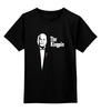 """Детская футболка классическая унисекс """"Kingpin x Godfather"""" - пародия, godfather, kingpin"""