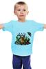 """Детская футболка """"Ряибна т"""" - арт, бабочка, осень, природа, олень, замок, ключ, tm kiseleva, лесной страж, рябина"""