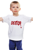 """Детская футболка классическая унисекс """"Dexter (Декстер)"""" - dexter, декстер, serial killer, серийный убийца"""