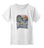 """Детская футболка классическая унисекс """"Зомби Хипстеры"""" - zombie, зомби, хиппи, хипстеры, hipsters"""