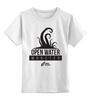 """Детская футболка классическая унисекс """"Open Water Monster"""" - осьминог, тигры, плавание, swimrocket, swimtigers"""