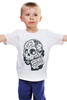 """Детская футболка классическая унисекс """"День Мертвых в Мексике"""" - авторские майки, черепа, mexico, day of the dead, november 1st"""