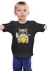"""Детская футболка классическая унисекс """"Угрюмый Кот"""" - grumpy cat, угрюмый кот"""