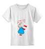 """Детская футболка классическая унисекс """"Rabbit_woman"""" - fun, nice"""