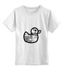 """Детская футболка классическая унисекс """"""""No Kidding!"""" T-Shirt"""" - арт, игрушки, камуфляж, милитари, утка"""