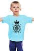 """Детская футболка """"7 футов под килем"""" - море, якорь, путешествие, капитан, штурвал"""