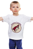 "Детская футболка ""Arizona Coyotes"" - хоккей, nhl, нхл, arizona coyotes, аризона койотс"
