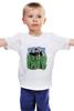 """Детская футболка """"Популярная панк-группа """"Green Day"""""""" - музыка, группа, green, панк, green day, панк-рок, зеленый день, green day общая"""