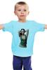 """Детская футболка классическая унисекс """"Мужская моника беллуччи"""" - моника беллуччи, monica bellucci"""