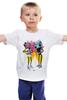 """Детская футболка """"NikeArt"""" - магнитофон, бумбокс, boombox, кассетник"""
