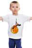 """Детская футболка классическая унисекс """"Жемчуг дракона (Dragon Ball)"""" - жемчуг дракона, dragon ball"""
