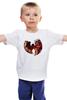 "Детская футболка классическая унисекс ""Wu-tang clan"" - арт, rap, hip-hop, hiphop, clan, хип-хоп, wutang, wuwear, wu-tang, wutangclan"