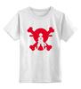 """Детская футболка классическая унисекс """"Луффи (Соломенная шляпа)"""" - luffy, луффи"""